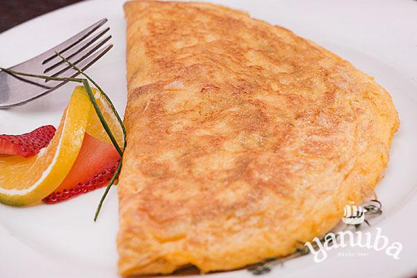 Porción omelette