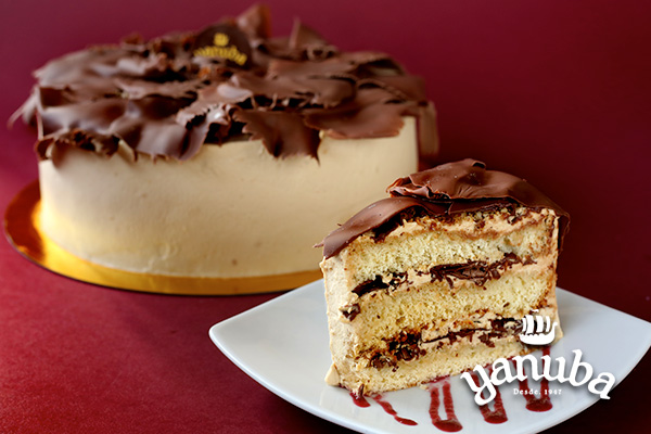 Torta mocca blanca