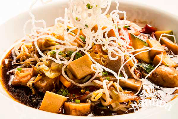 Vegetales al wok
