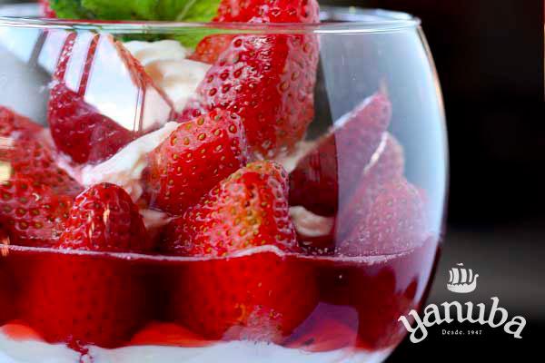 Fresas al brandy