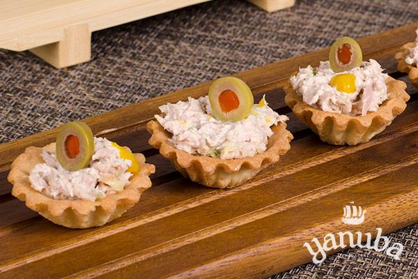Tartaletas de atún