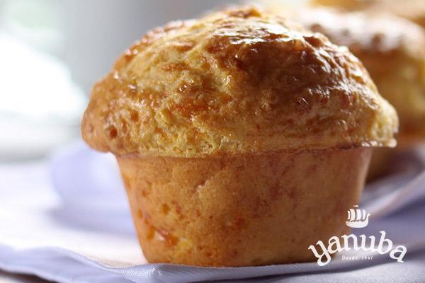 Muffin de queso grande
