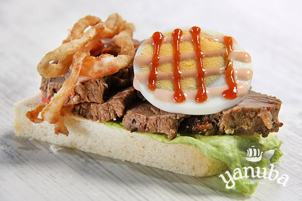 Sandwichito de roast beef