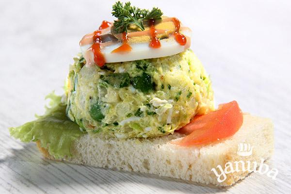 Sandwichito de verduras