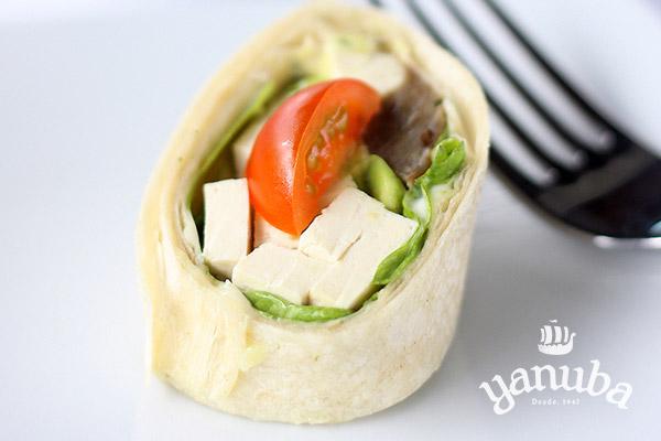 Wrap berenjena y tofu
